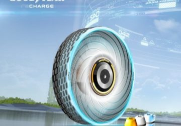 Goodyear unveils reCharge Concept tire that can self-regenerate thread